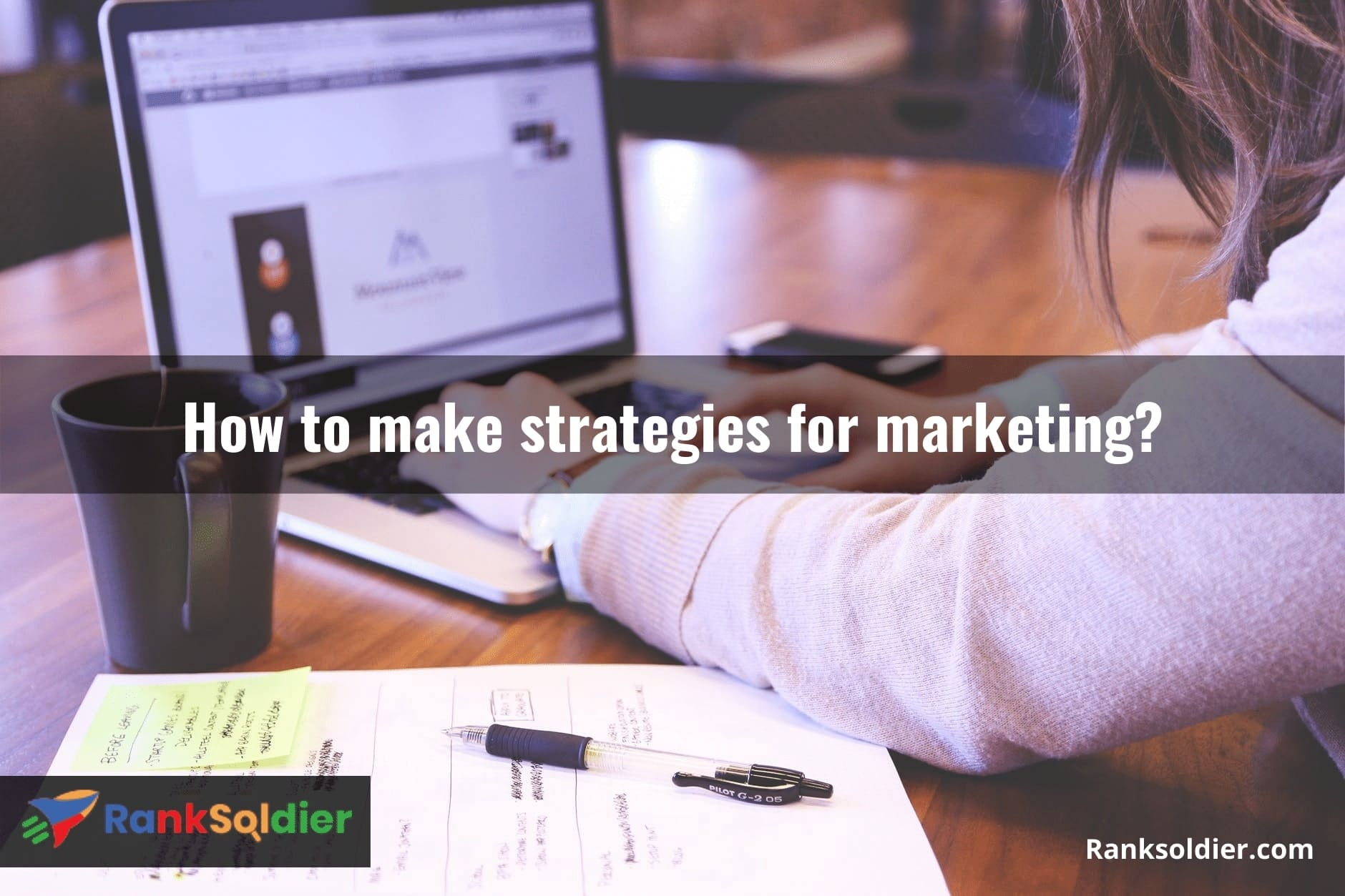 How to make strategies for marketing