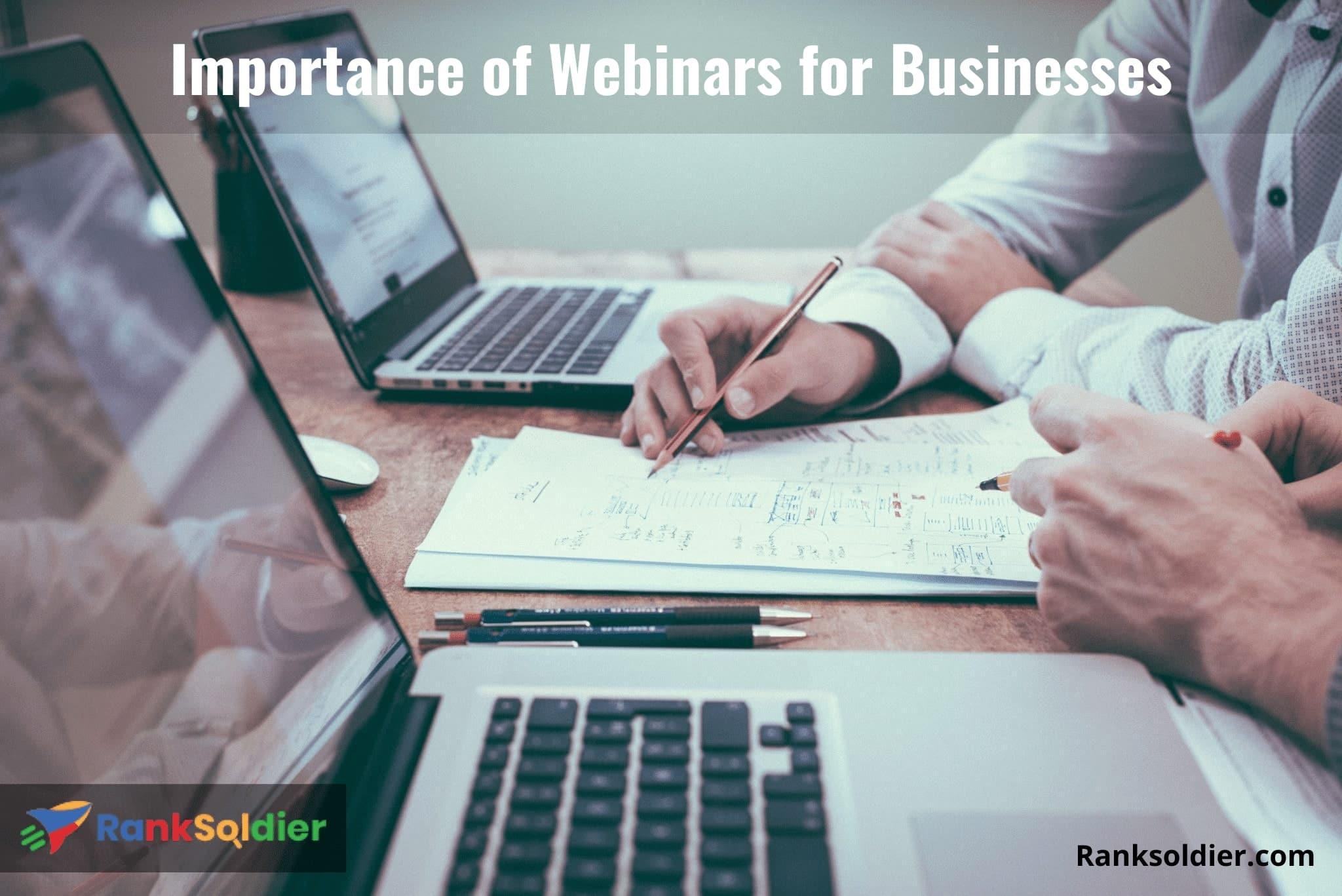 Importance of Webinars for Businesses