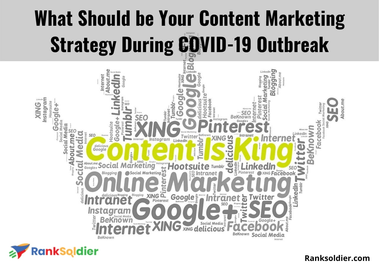What Should be Your Content Marketing Strategy During COVID-19 Outbreak
