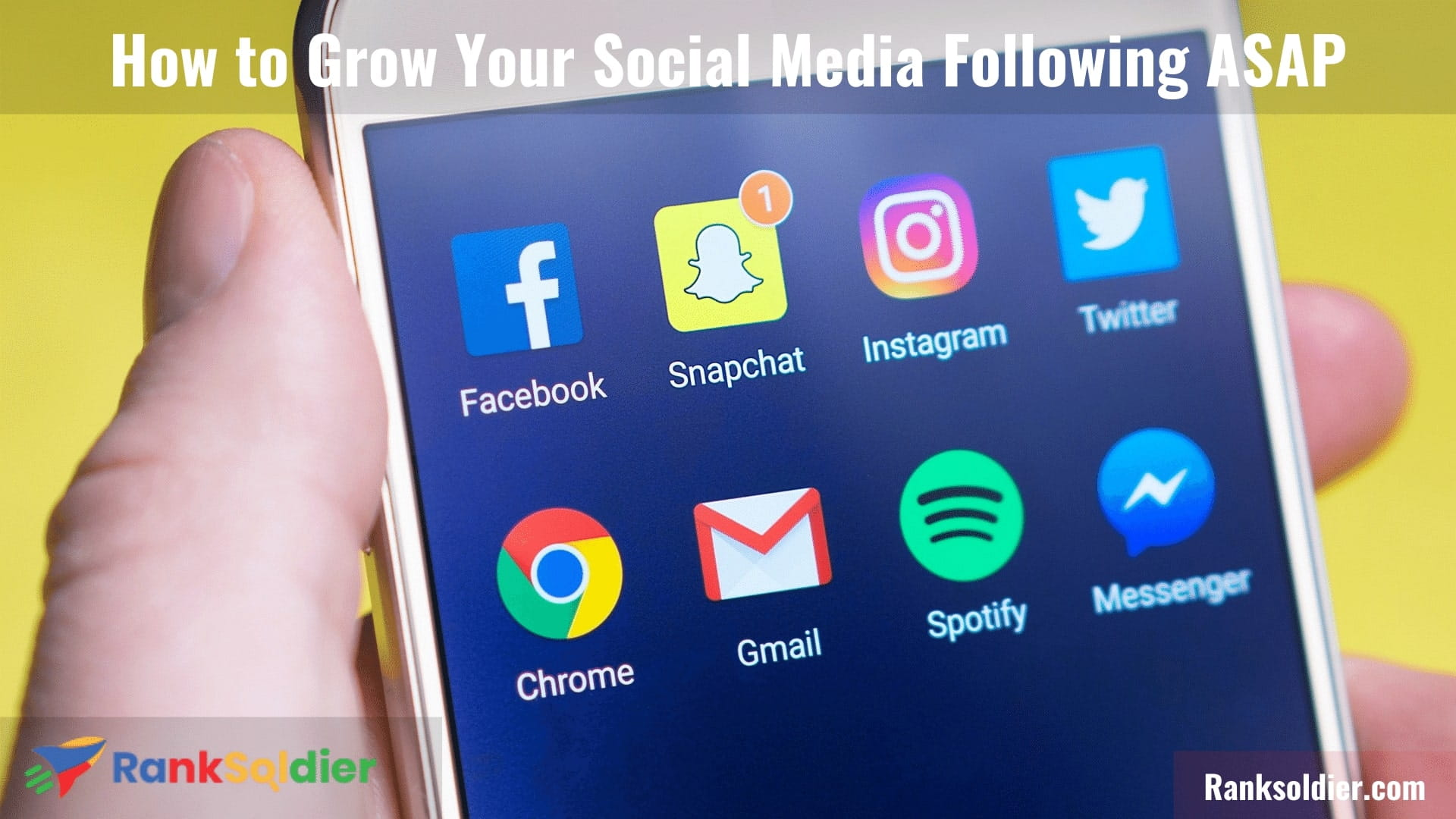 How to Grow Your Social Media Following ASAP