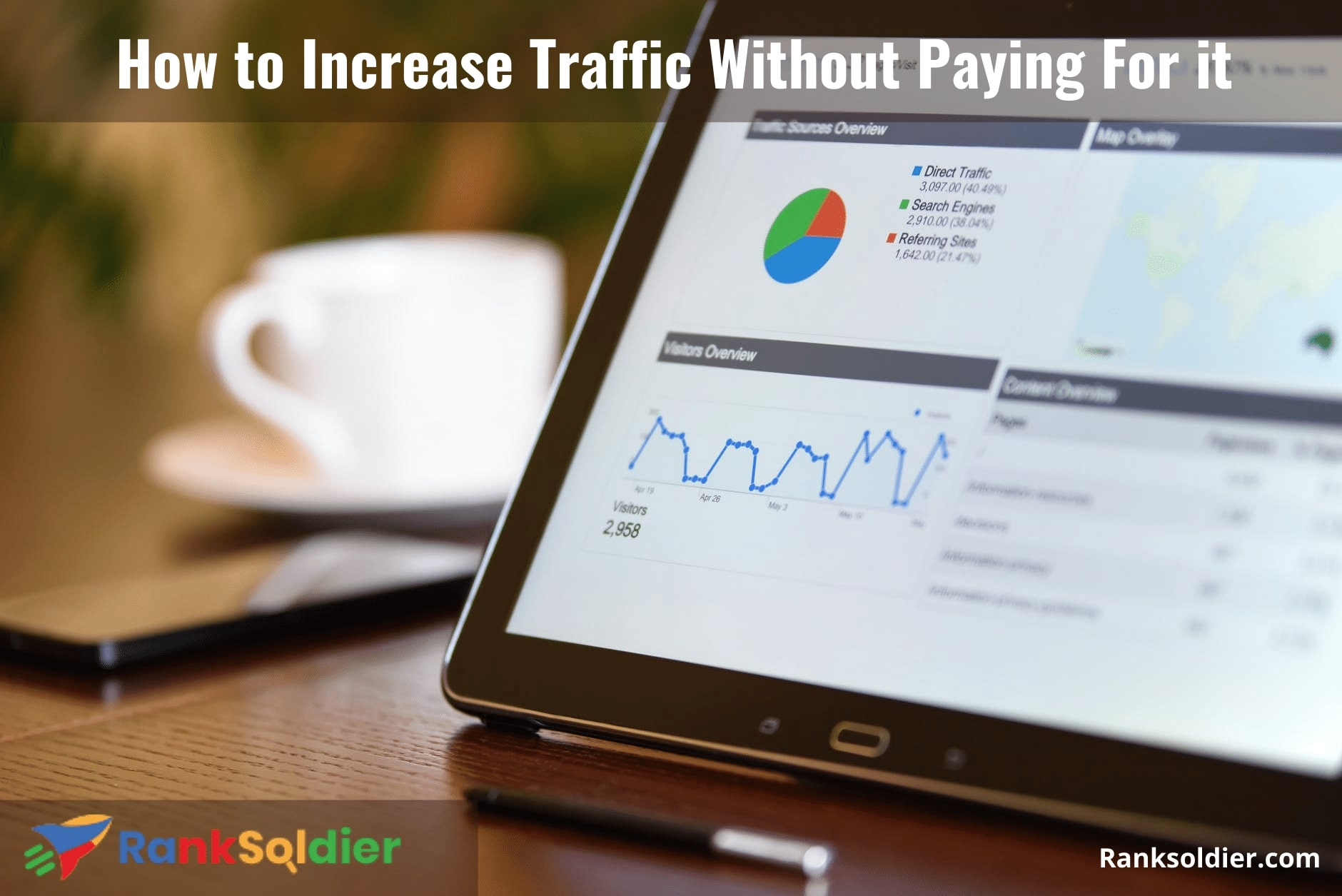 How to Increase Traffic Without Paying For it